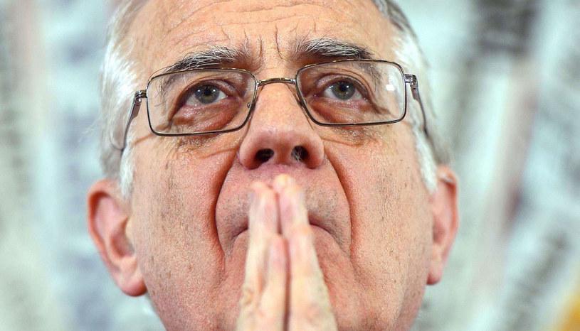 Rzecznik Watykanu ks. Federico Lombardi. /AFP