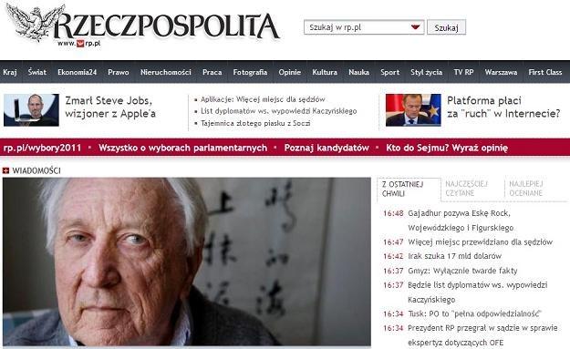 """""""Rzeczpospolita"""" jest w trakcie zmian własnościowych /Internet"""