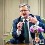 """""""Rzeczpospolita"""": Przedwyborcza zagrywka Komorowskiego?"""
