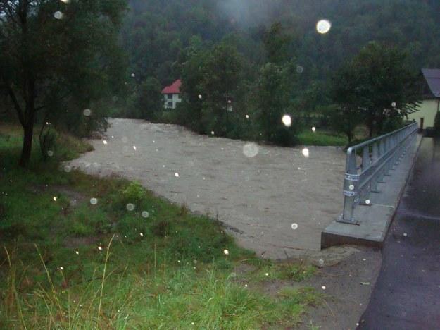 Rzeka Skawica  /Pawe /Gorąca Linia RMF FM