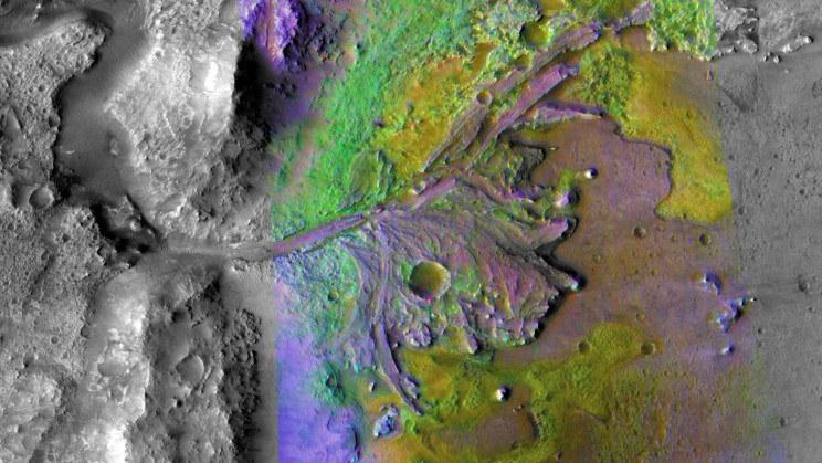 Rzeki na Marsie w przeszłości czymś normalnym /NASA