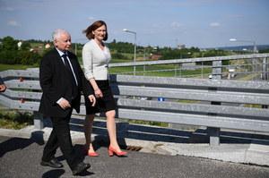 Rzeszów: Jarosław Kaczyński: Ewa Leniart jest jedynym kandydatem PiS