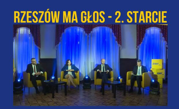 """""""Rzeszów ma głos – 2. starcie"""": Zobacz drugą debatę kandydatów na prezydenta miasta"""