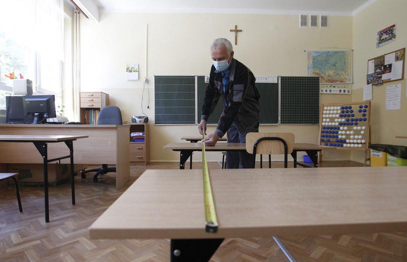 Rzeszów: Przygotowanie do otwarcia szkół /Krzysztof Kapica/Polska Press /East News