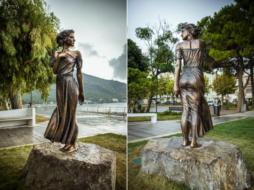 Rzeźba, która miał upamiętniać istotny moment w historii Włoch i sławiący go wiersz, wywołała głośny skandal /Valentino Palermo/Associated Press/ /East News