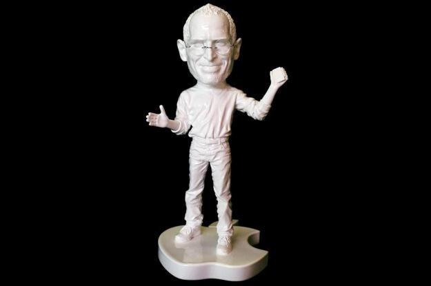 """""""Rzeźba"""" Steve'a Jobsa wykonana przez XVALA /materiały prasowe"""