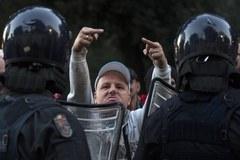 Rzymska policja vs kibice Feyenoordu Rotterdam