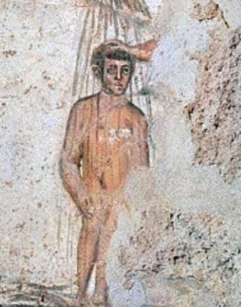 """""""Rzymski"""" Jezus z katakumb Marcelina i Piotra /Archiwum"""