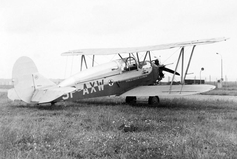 S-13 z Zespołu Lotnictwa Sanitarnego. /Wacław Hołyś /Muzeum Ratownictwa w Krakowie