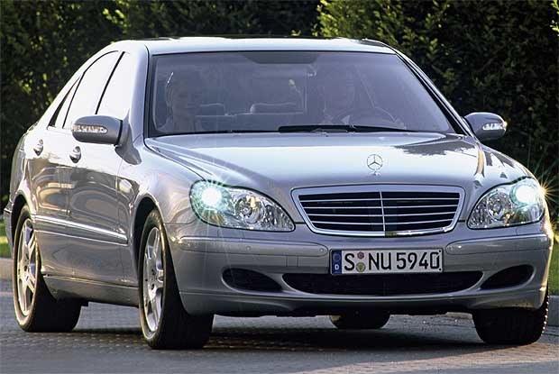 S-klasa w wersji 2003 (kliknij) /INTERIA.PL