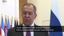 S. Ławrow o porozumieniu ws. traktatów rakietowych: Z naszej strony nie brak inicjatyw