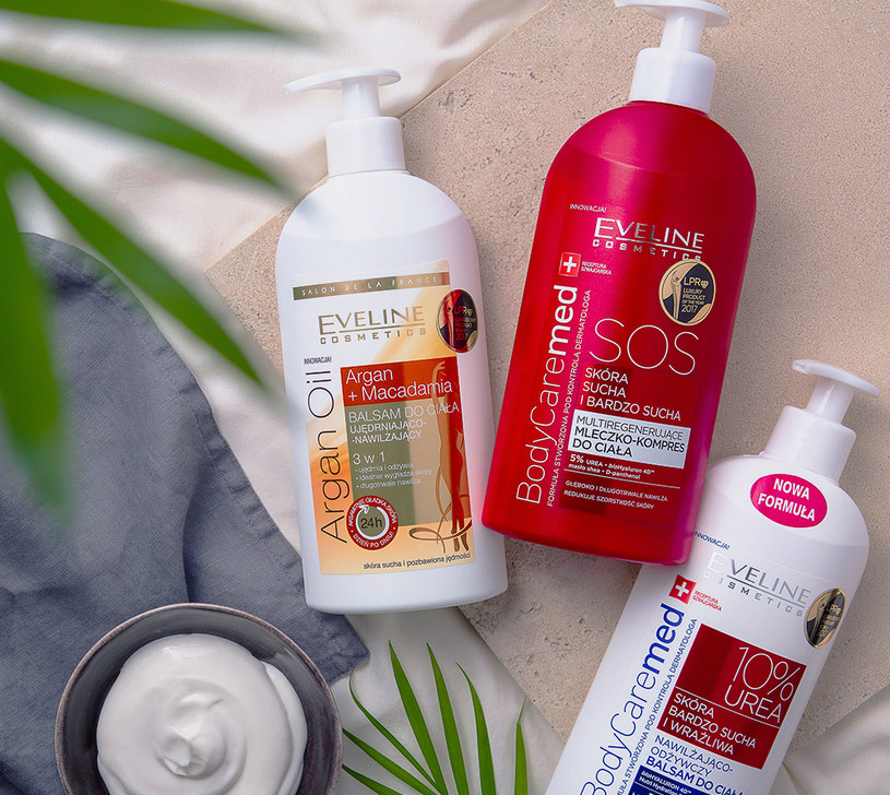 S.O.S dla skóry od Eveline Cosmetics /INTERIA/materiały prasowe