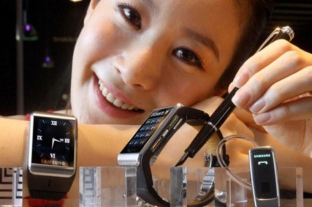 S9110 - inteligentny zegarek Samsunga z 2009 roku /materiały prasowe