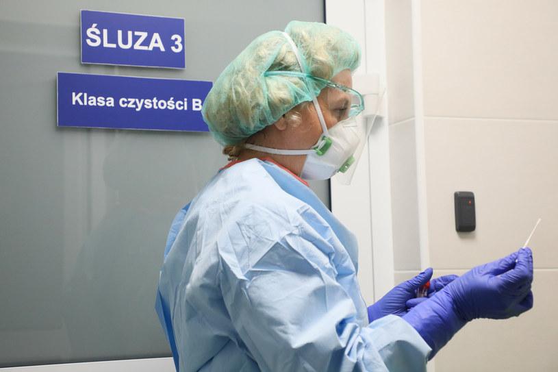 Są najnowsze dane z Ministerstwa Zdrowia /Jakub Kaminski/East News /East News