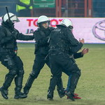 Są pierwsze kary dla Piasta Gliwice za sobotnie burdy na stadionie
