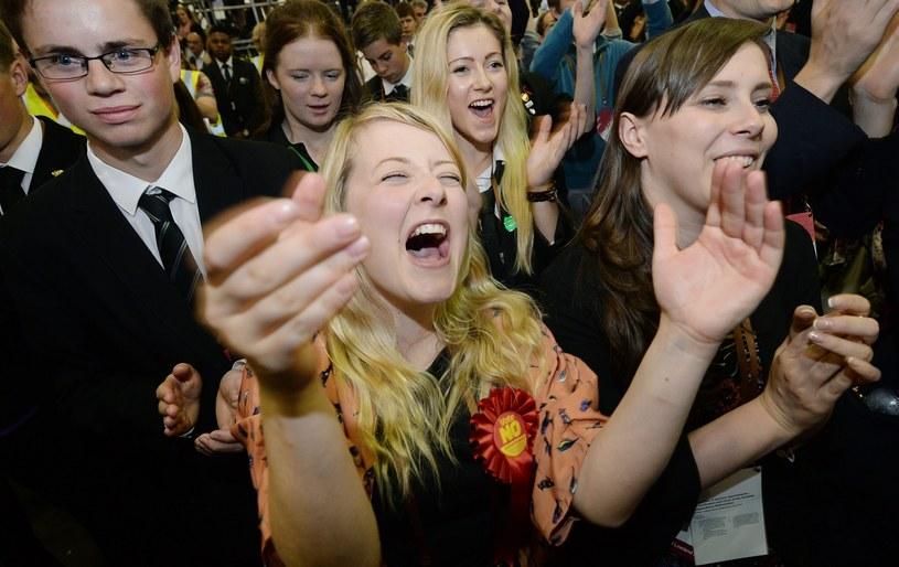 Są wyniki szkockiego referendum /AFP