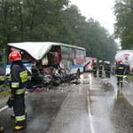 Są zarzuty dla kierowcy cysterny, w którą uderzył autobus PKS