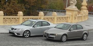 Saab 9-3, Alfa Romeo 159