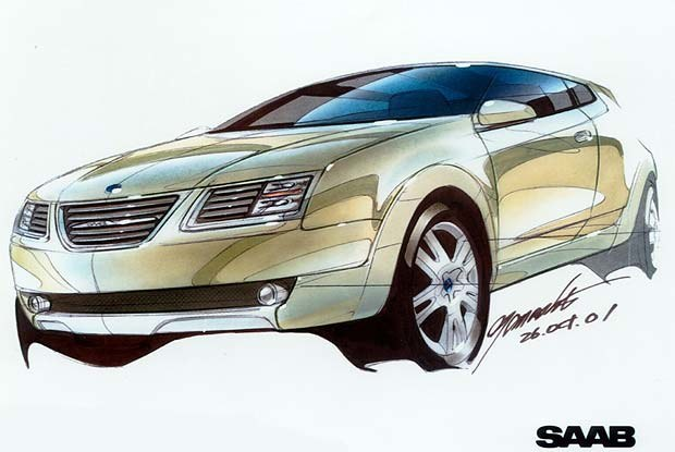 Saab 9-3X Cross-Over Coupe /INTERIA.PL