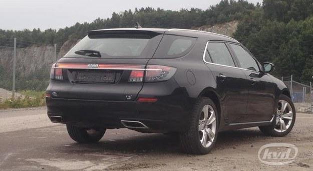 Saab 9-5 SportKombi wyceniony na 40,7 tys. euro. Niestety - bez prawa rejestracji. /KVD Kvarndammen