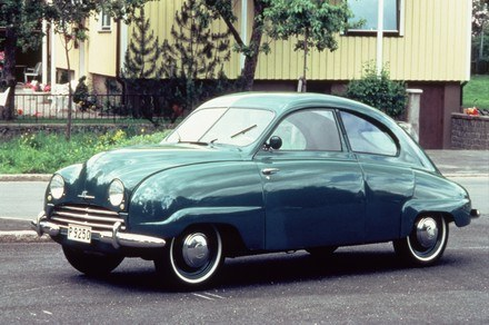 Saab 92 z 1949 roku /