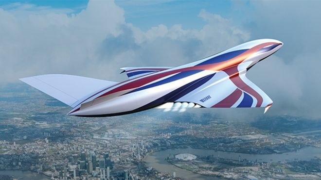 Sabre może napędzać samoloty pasażerskie przyszłości /materiały prasowe