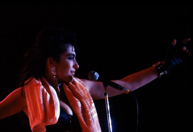 Sabrina na koncercie w Związku Radzieckim w 1989 roku /Wojtek Laski /East News