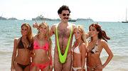 Sacha Baron Cohen w różowym bikini