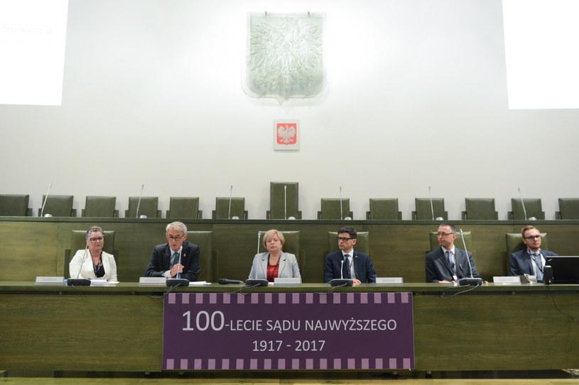 Sąd Najwyższy obchodzi w tym roku 100-lecie istnienia /Jakub Kamiński   /PAP