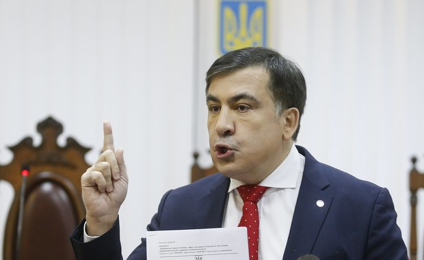 Sąd w Kijowie odrzucił skargę Saakaszwilego na deportację do Polski