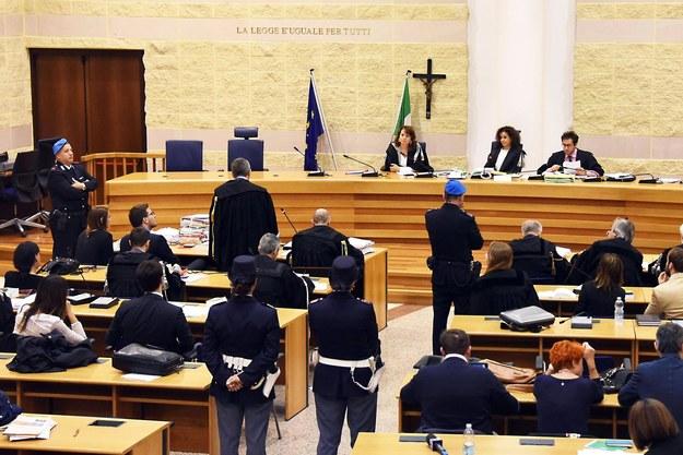 Sąd w Rimini /MANUEL MIGLIORINI/ANSA /PAP/EPA