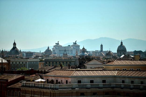 Sąd w Rzymie nakazał bezdomnej spać na dworcu fot. Filippo Monteforte /AFP
