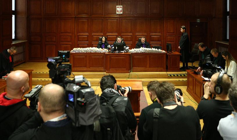 Sąd w trakcie ogłaszania wyroku /Krystian Maj /Agencja FORUM