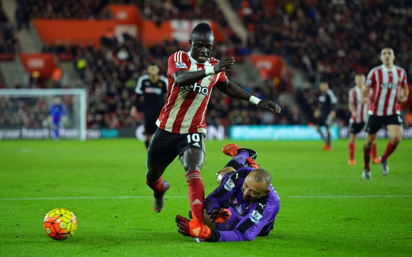 Sadio Mane był bohaterem meczu na St. Mary's Stadium /AFP