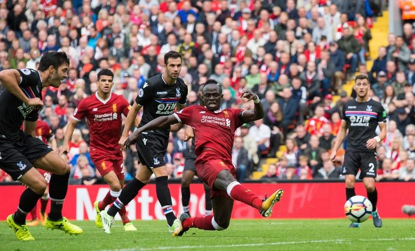 "Sadio Mane strzela gola dla ""The Reds"" /PAP/EPA"