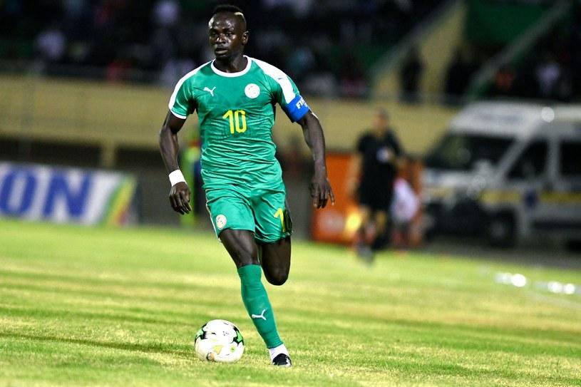 Sadio Mane w barwach Senegalu /AFP