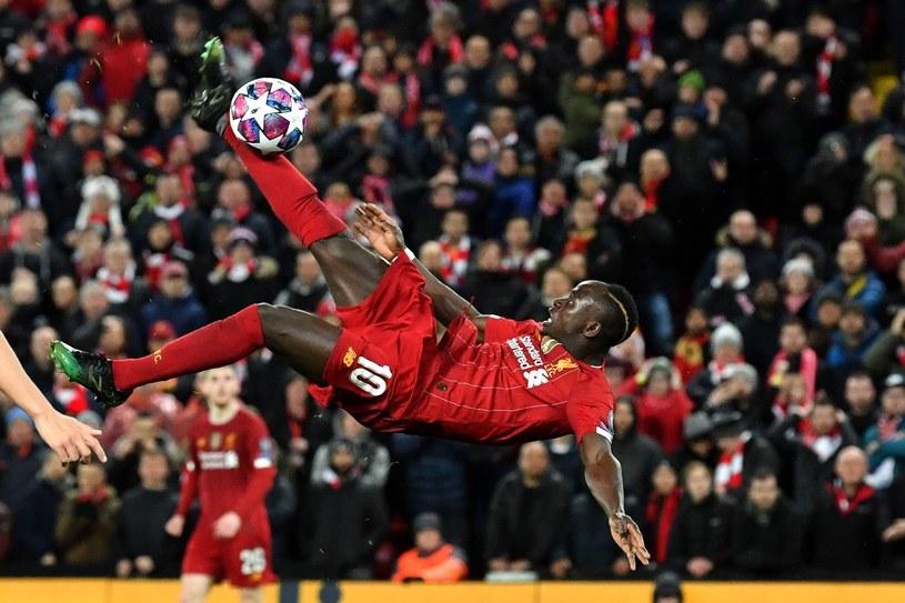 Sadio Mane z Liverpoolu /AFP