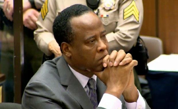 Sądowa porażka lekarza skazanego za śmierć Michaela Jacksona