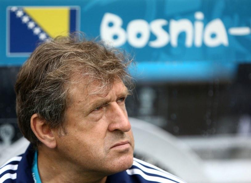Safet Susić trener Bośni i Hercegowiny /AFP
