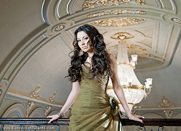 Safura Elizade uznawana jest za faworytkę Eurowizji 2010 /oficjalna strona wykonawcy