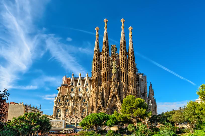 Sagrada Familia od ponad 100 lat  jest  w budowie /123RF/PICSEL
