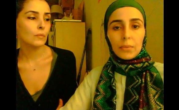 Sahar i Jawaher umieściły na Youtubie apel o pomoc /