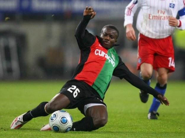 Saidi Ntibazonkiza w meczu z Hamburger SV /Getty Images/Flash Press Media