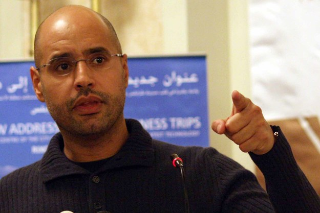Saif al-Islam /STR /PAP/EPA