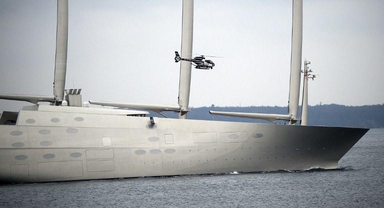 Sailing Yacht A /AFP