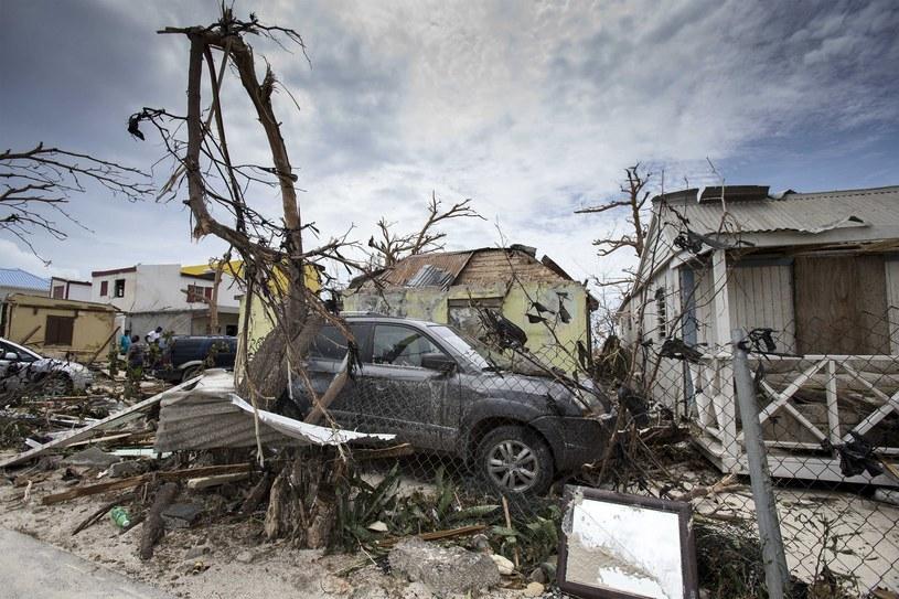 Saint-Martin po przejściu huraganu Irma /EPA/GERBEN VAN ES/DUTCH DEPARTMENT OF DEFENSE /PAP/EPA