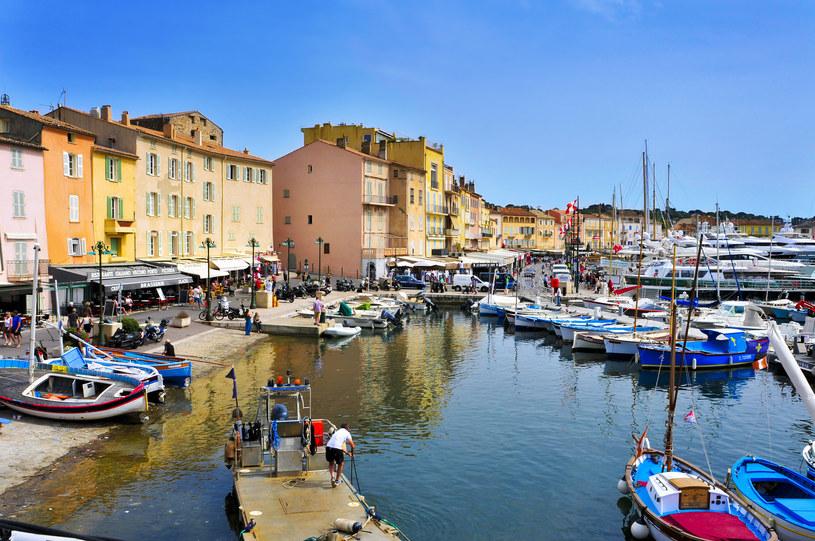 Saint Tropez to ulubione miasto słynnego żandarma /123RF/PICSEL