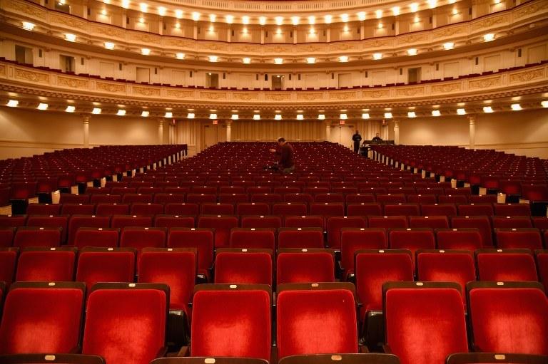 Sala koncertowa w Carnegie Hall /AFP