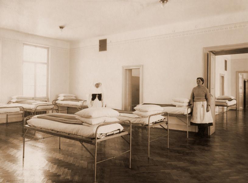 Sala na jednym z oddziałów kobiecych /