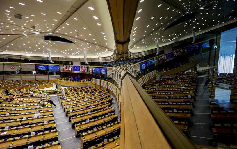 Sala obrad Parlamentu Europejskiego /OLIVIER HOSLET /PAP/EPA
